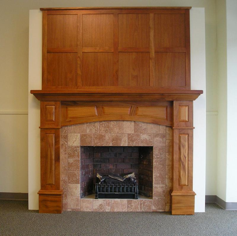 alfa img showing mission style mantel surrounds