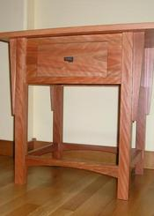A Corner Cabinet Shop - Finn Homes INC 360.708.0789 - Endtable: Misson